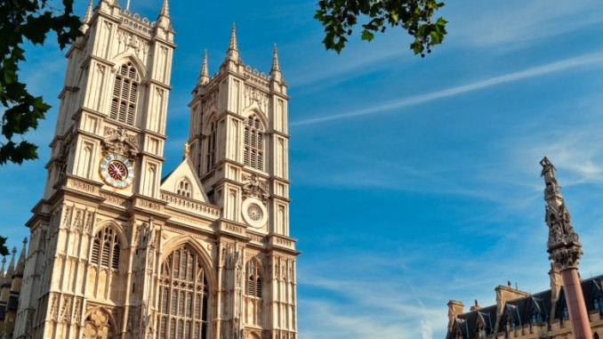 Westminster Abbey Gottesdienst