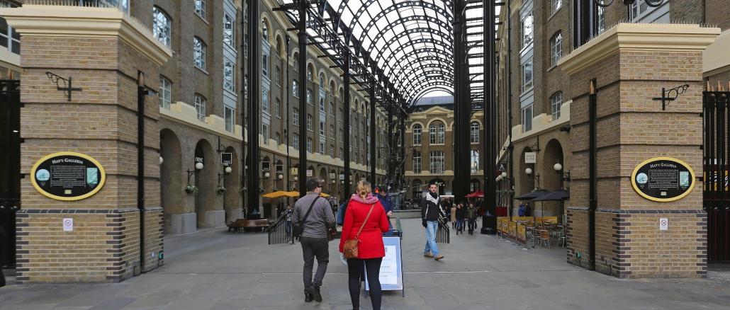 Hay`s Galleria sehenswerte Passage in London