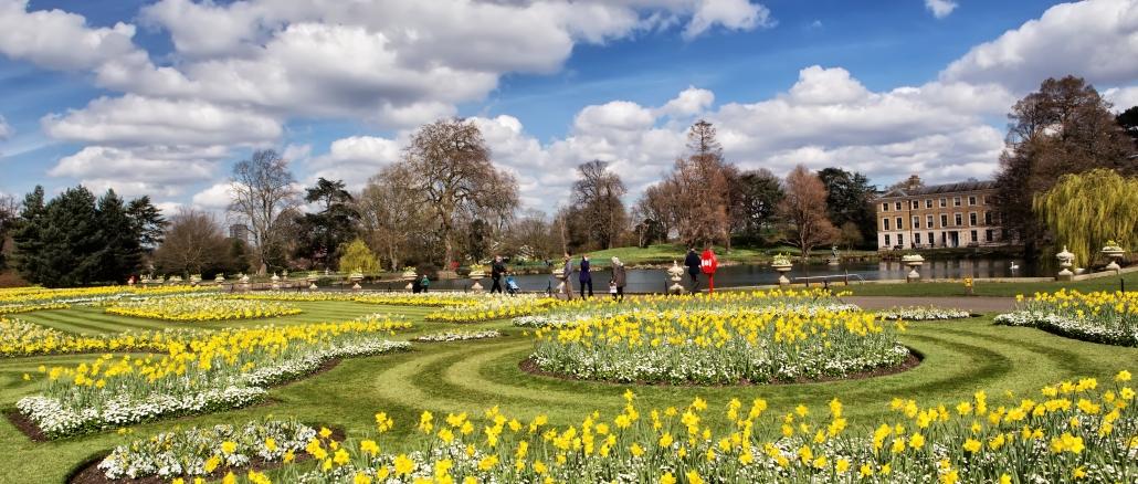 Kew Gardens Royal Botanic Garden In London