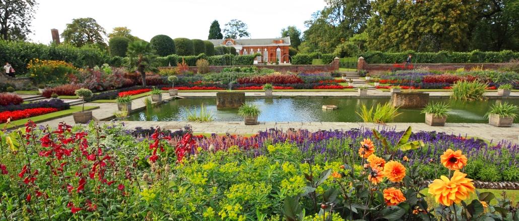 Kensington Gardens Wunderschoner Park In London